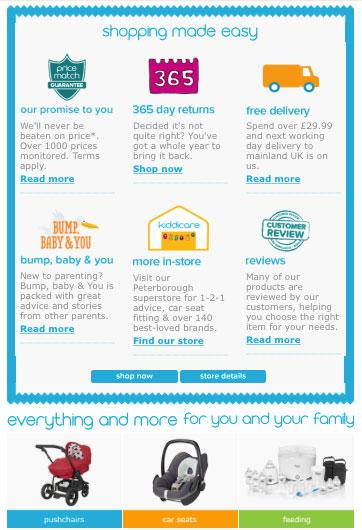 kiddicare-site-features