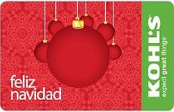 Kohls Feliz Navidad Gift Card