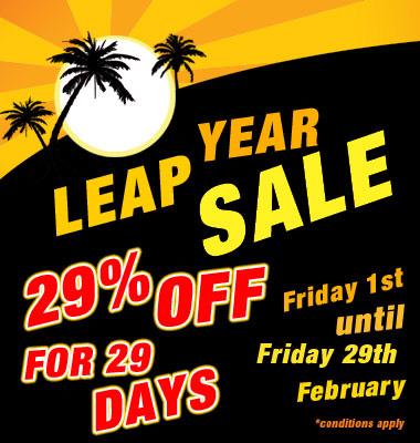Leap Year - BodyBoarders