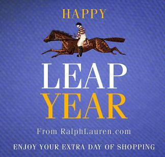 Leap Year - Ralph Lauren