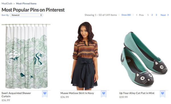 most-popular-modcloth-pins