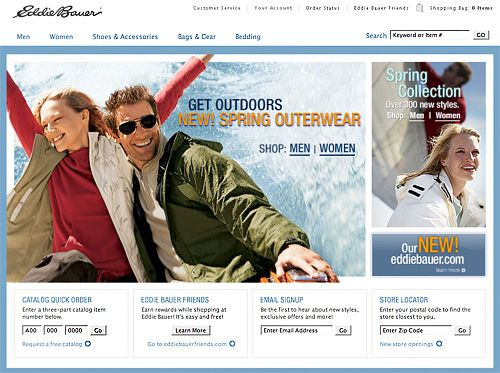 New Eddie Bauer Design