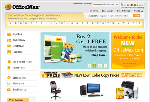 New OfficeMax Design
