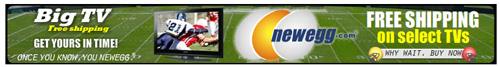New Egg Horizontal Banner