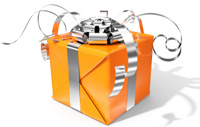 Orange Gift