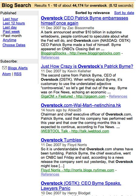 Overstock Blog Search Results