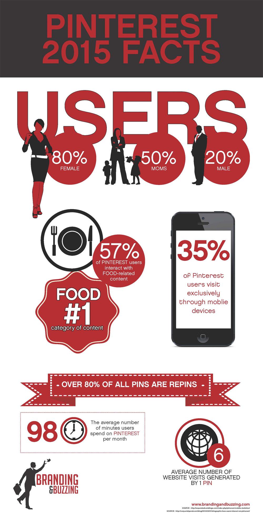 2015 Pinterest Stats [Infographic]