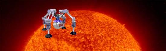 Solar landing