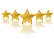 customer review star rating