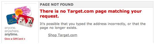 Target Error