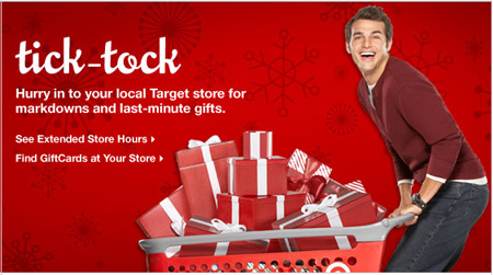 Target Tick Tock Promo