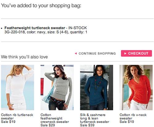 Victoria Secret Add To Bag