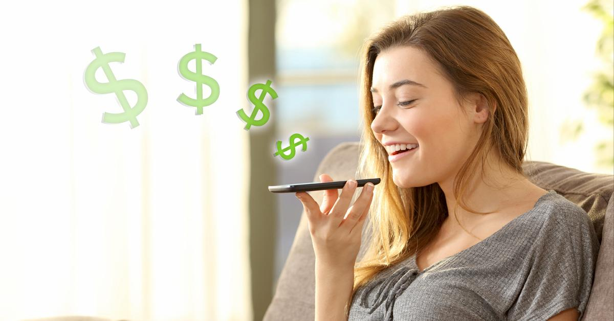 voice control banking