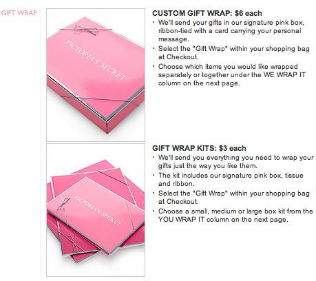 Victoria's Secret Gift Boxes