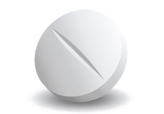 A white pill