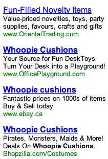 whoopie cushions