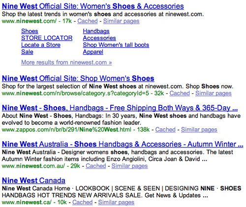 Zappos Search Ranking