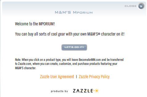 Zazzle Agreement