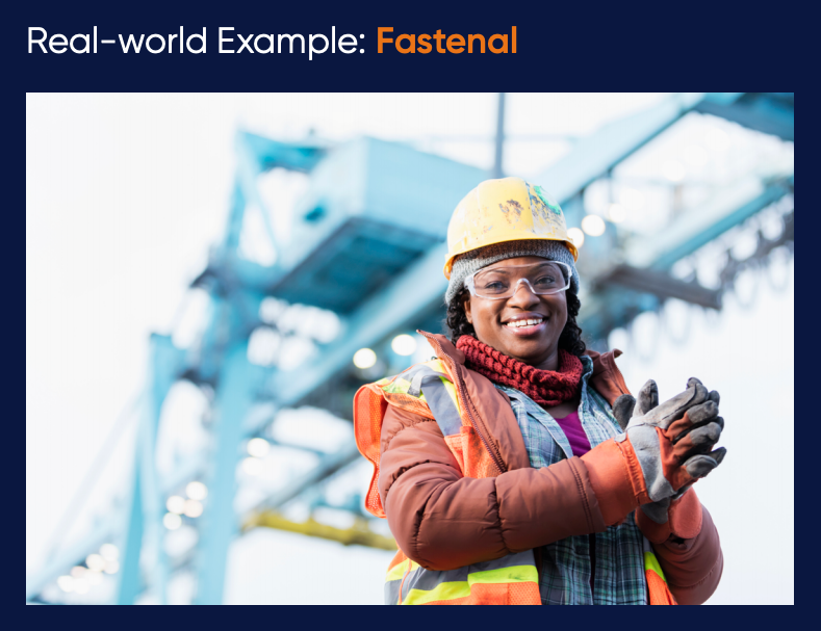 fastenal_ecommerce_business_model_woman_construction_worker