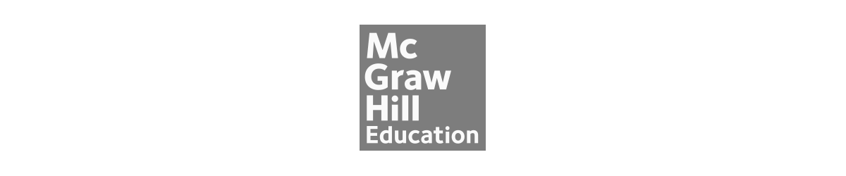 Grey Mc Graw Hill connects logo