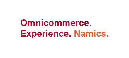 Namics Omnicommerce experience logo