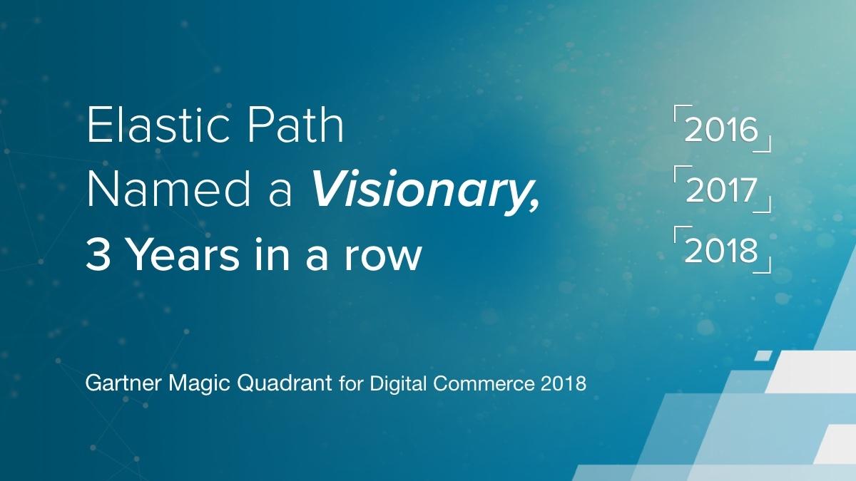 Gartner Magic Quadrant for Ecommerce 2018
