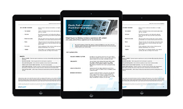 Commerce integration Product Brief