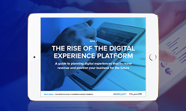 The Rise of the Digital Experience Platform