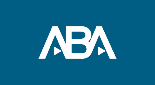 American Bar Association Logo Reversed RGBA
