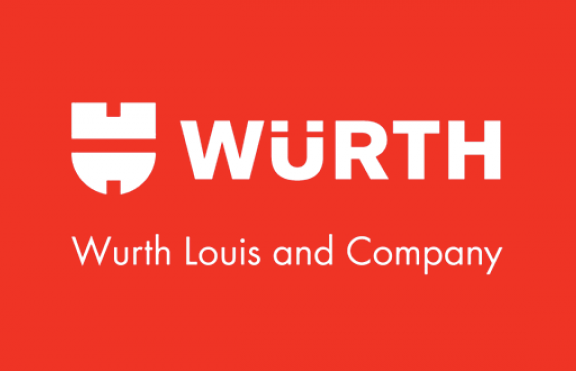 Würth Louis and Company Reversed Logo