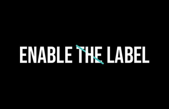 Enable the Label Logo