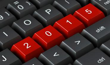 2015 Red keyboard buttons