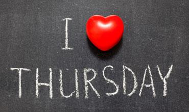 Thursday the new Black Friday image