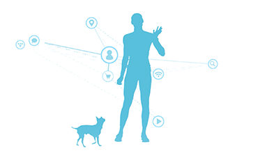 blue silhouette elastic path video