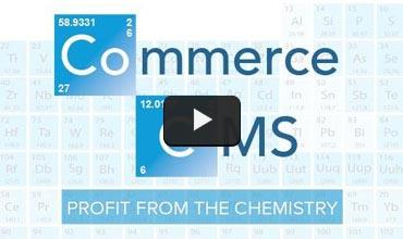 Still from Commerce content video