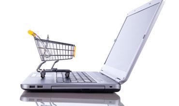 Commerce platform image computer and shopping cart
