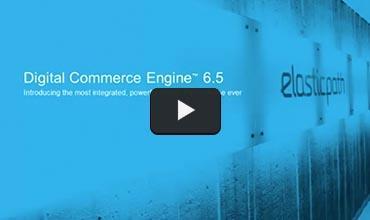 Still from Digital Commerce Engine video
