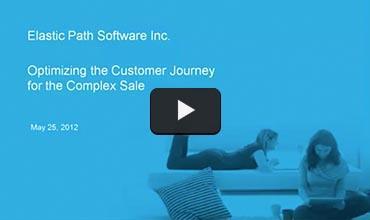 Still from Optimizing the Customer Journey