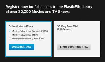 ElasticFlix subscriptions image