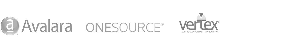 Tax Calculations Compliance Providers - Avalara, OneSource, Vertex