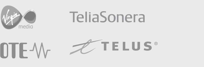 Telecom Ecommerce Customers - Virgin Media, Sony, TeliaSonera, OTE, Telus